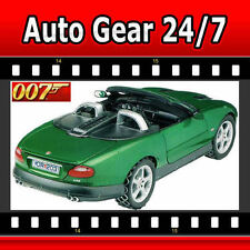 James Bond 007 Die Another Day Green Jaguar XKR Roadster 1:18 Diecast Model Car