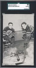 1948-49 Sports Champion Exhibit,Bentleys,SGC80,Chicago Black Hawks,HOF,2 Higher