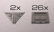 DeAgostini Millennium Falcon Hyperdrive Detailing Set (26 Segmente/4 Ecken)