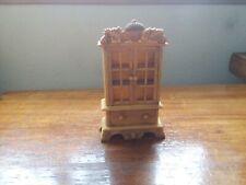 "Dollhouse Miniature Kitchen /Dining Room Cabinet Cupboard - 5 1/4"" Tall"