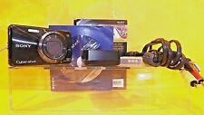 Sony Cyber-shot DSC-W290 12.1MP Digital Camera, Charger, Cords, battery