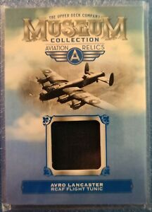 2018 UD Goodwin Champions Museum Collection Aviation Relics Avro Lancaster