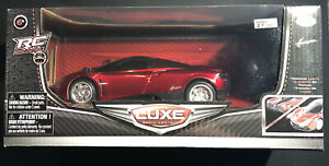 Luxe Radio Control Pagani Huayra Toy Car 82217 1:24 Scale | BRAND NEW IN BOX!