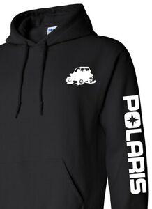 POLARIS SIDE BY SIDE Hoodie BLACK or NAVY Sweatshirt *CHOOSE DESIGN COLOR ATV