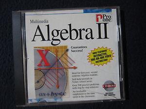 Multimedia Algebra II by Pro One
