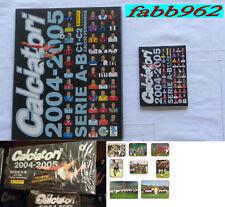 Calciatori Panini 2004/2005/05 Album+box sigillato+aggiornamenti+1 serie ringo