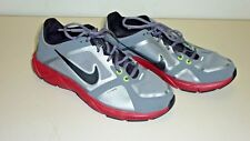 Womens NIKE, Flywire, 415257-002, Grey/Lime Yellow/Red, Atheletic Shoes, Size 10