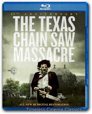 The Texas Chain Saw Massacre Blu-Ray New 40th Anniversary Edition