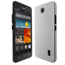 Skinomi Brushed Aluminum Skin & Screen Protector for Huawei Ascend Y635