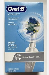 Oral-B Vitality Floss Action Deepclean Electric Rechargeable Toothbrush New Box