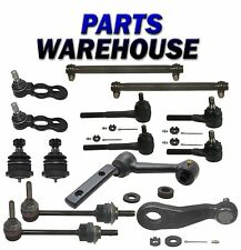14 Pc Suspension Kit Pitman And Idler Arms Stabilizer Links Ball Joints Tie Rod