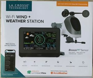 La Crosse Wi-Fi Wind and Weather Station with Breeze Pro Sensor 2020 Model