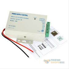 Power Supply Door Access Control System RFID EM Keypad Access 3A 12v Control K80