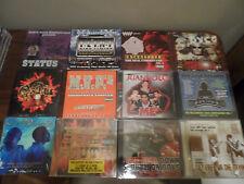 CD Lot of 12 RAP CD's Status DYCO Juandolo ONE LOVE RECORDS Tru Stone MVP'z