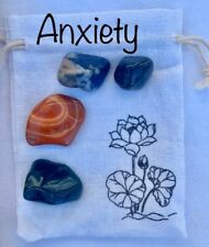 Healing crystal set/Crystals/crystal Kit/relieve Anxiety/Anxiety Crystal Kit