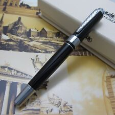 Jin Hao Business Office Writing Gift Pen black Fountain pen Free Shipping
