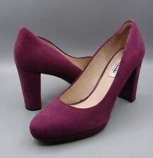 """KENDRA SIENNA""Clark's Women/Ladies PLUM SUEDE Shoes size UK 7 D."