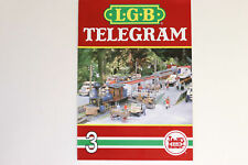 LGB Buch - Prospekt - Katalog LGB  TELEGRAM Heft 3 Spur G