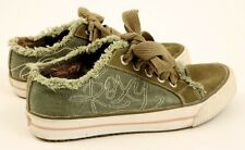 Roxy Bayshore Canvas Sneakers Size: UK 5 EU 38 US 7 - Excellent Condition