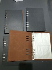 Crafts 4 X Leather Binders With Inserts 411