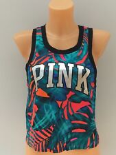 VICTORIA'S SECRET VS PINK Graphic Sleeveless Crop Tank Sizes XS & M BNWT