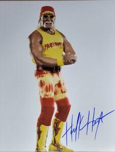 Hulk Hogan Authentic Autographed 8x10 Photo w/ COA