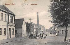 Coswig Anhalt Karl Caricamento segmento, scolaretti cartolina GEL. 1913