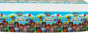 Rectangle Plastic Disposable Childrens  Birthday Party Table Cloth Covers