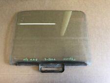 Ford  Escort mk1  door drop glass O/S ( 2 door  with scratches but good runner )