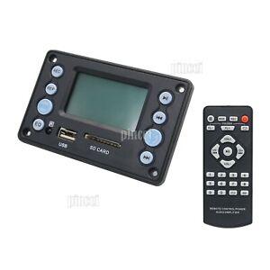 5V LCD MP3 Decoder Bluetooth 4.2 Audio Receiver APE FLAC WMA WAV Decoding