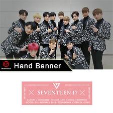 KPOP Seventeen 17 Hand Banner Non-woven Fans Support WONWOO WOOZI DINO HOSHI
