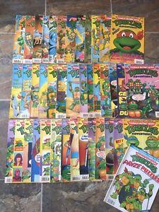 40 Teenage Mutant Hero Turtle Comics Bundle! Look In The Shop