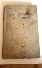 1921 Atlanta Woman's Club Cook Book Georgia GA Recipes & Advertising WELL USED