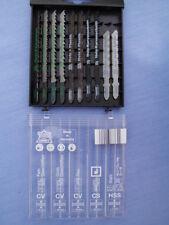 TopCraft Stichsägeblätter t-Schaft Stichsäge  Sägeblätter für  Metall +  Holz