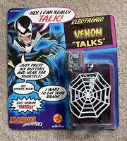 1991 Toybiz Marvel Action Figure Talking Venom- New!