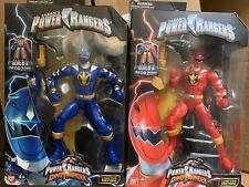RED & BLUE DINO THUNDER RANGER Power Rangers Legacy Figure BAF New