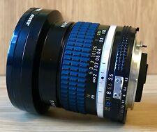Nikon Nikkor 18mm 1:3.5 f/3.5 Ai-S lens (Wide Angle)