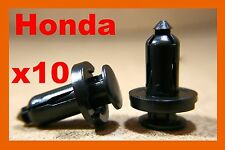 10 Honda bumper panels plastic push retainer fastener clips Accord Odyssey