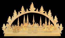 Lichterbogen Schwibbogen groß Lübeck mit LED ca.40x70cm