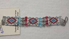 Native american style beaded bracelet