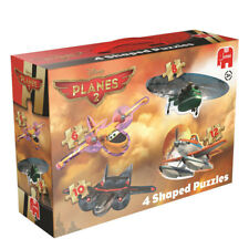 JUMBO 17369 DISNEY PLANES - PLANES 2, 4 IN1 SHAPED PUZZLES / JIGSAW BRAND NEW
