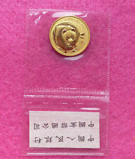 2003 CHINA PANDA GOLD 50 YUAN 1/10 oz COIN - MINT SEALED