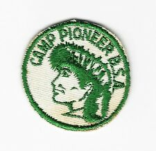 BOY SCOUT  CAMP PIONEER  50'S  DOLLAR PP  CHARTER OAK CNCL   CT