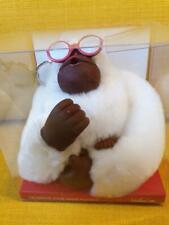 KIPLING Monkey Program XL GORILLA KEYRING boxed FLIP FLOP white sunglasses