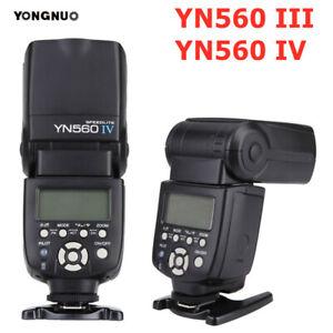 YOUNGNUO YN560 III YN560 IV Wireless Master Flash Light Speedlite For Camera SLR