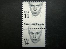 More details for united states 1980 - 1985 error stamp mnh sinclair lewis great americans sc#1856