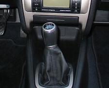 Genuine Cuir Gear Shift Boot Gaiter Cover Housse Fit Seat Leon Mk1 1999 - 05