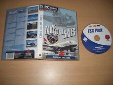 Prendere per i cieli PC CD ROM add-on SIM Simulatore di volo MICROSOFT fs2004 & FSX