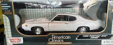 "1:18 ""Motor Max"" 1969 Pontiac 'GTO' Judge ""American Classics"""