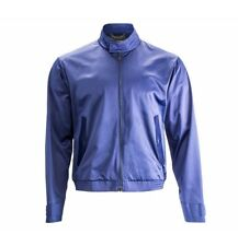 Porsche Design Stylish light nylon Jacket señores Cool chaqueta azul Gr. 50 nuevo